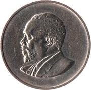 25 cents Jomo Kenyatta (sans légende) – revers