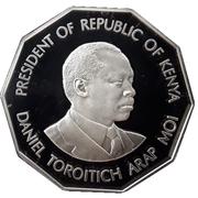 500 shillings Arap Moi – revers