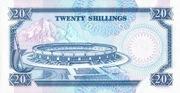 20 Shillings – revers