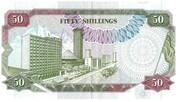 50 Shillings – revers