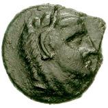 Bronze Æ12 (Kephaloidion) – avers