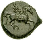 Bronze Æ12 (Kephaloidion) – revers