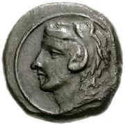 Bronze Æ13 (Kephaloidion) – avers