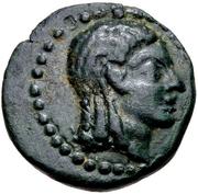 Bronze Æ19 (Keramos) – avers