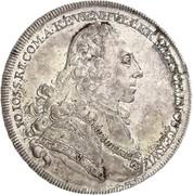 1 thaler Comte Johann Joseph – avers