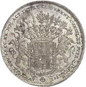 1 thaler Comte Johann Joseph – revers