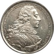 1 thaler Prince Johann Joseph – avers