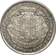 1 thaler Prince Johann Joseph – revers