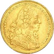 1 ducat Johann Joseph -  avers