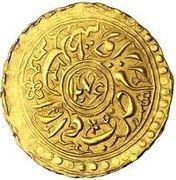 1 Tilla - Sayyid Muhammad Khan – avers