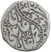 1 Tenga - Muhammad 'Ali Khan – avers