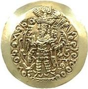 Dinar - Kidara I (2nd version, Kushano-Sassanian style, unknown mint) – avers