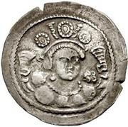 Drachm - Kidara (Sassanian style, type 11A, Gandhara mint) – avers
