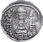 Drachm - Buddhatala /King C/ (Sassanian style, type 18, unknown mint) – revers
