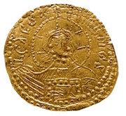 Zlatnik - Vladimir le Grand – revers