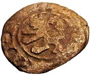 Denier - Henri II de Lusignan – avers