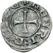 Denier - Henri II de Lusignan (second règne) – avers