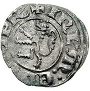 Denier - Henri II de Lusignan (second règne) – revers