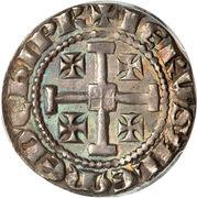 Gros - Henri II (second règne) – revers