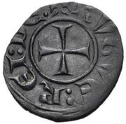 Denier - Hugues III de Lusignan – avers