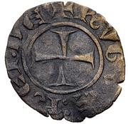 Denier - Hugues IV de Lusignan – avers