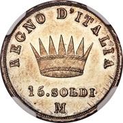 15 soldi - Napoléon I – revers