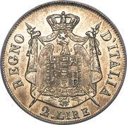 2 lire - Napoleon I – revers