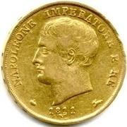 20 lire - Napoleon I – avers