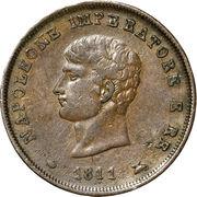 3 centesimi - Napoléon I – avers