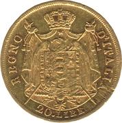 20 lire - Napoleon I – revers