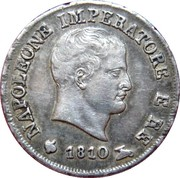 10 soldi - Napoléon I – avers