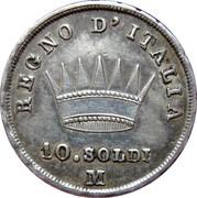 10 soldi - Napoléon I – revers