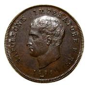 2 centesimi 1806 Milan – avers