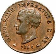 1 soldo - Royaume de Napoléon - 1er type – avers