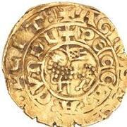 "Bezant ""Saracen"" - Anonymous Crusader imitation - 4th type - Acre – avers"