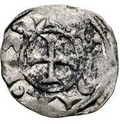 Denier  - Anonymous (Siege coinage) – avers