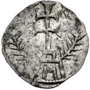 Denier  - Anonymous (Siege coinage) – revers