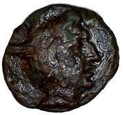 Dichalque de Persée (Royaume de Macédoine) – avers