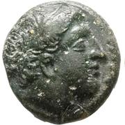 Bronze Æ16 Philip II – avers