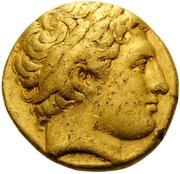 Stater - Philip II (Lampsakos) -  avers