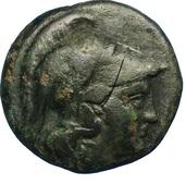 Hémiobole d'Antigone II Gonatas – avers