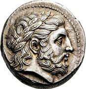 Tetradrachm - Philip II -  avers