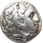 Silver Drachma Colophon 323-319 B.C. – avers