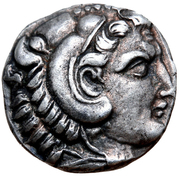Diobol - Alexander III (Amphipolis) – avers