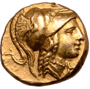 ¼ Stater - Alexander III (Amphipolis) – avers