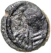 1 nummus Hildéric / Au nom de Justinien I, 527-565 (Carthage) – avers