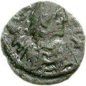 1 nummus Hildéric (Carthage) – avers