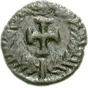 1 nummus Hildéric (Carthage) – revers