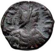 1 nummus Gélimer (Carthage) – avers