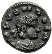 2½ nummi Hunéric (Carthage) – avers